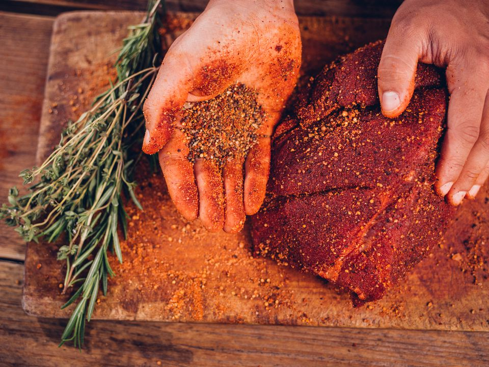 Pork spice rub