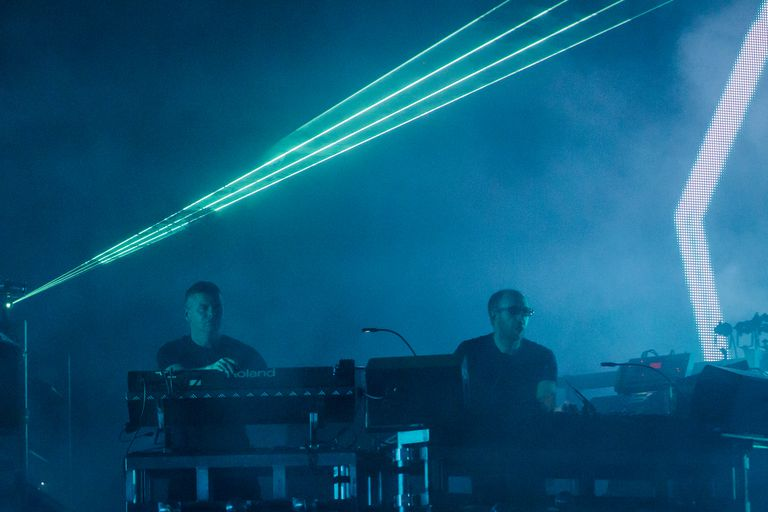 The techno song in a famous budweiser commercial the chemical brothers performs at tel aviv expo grounds aloadofball Choice Image