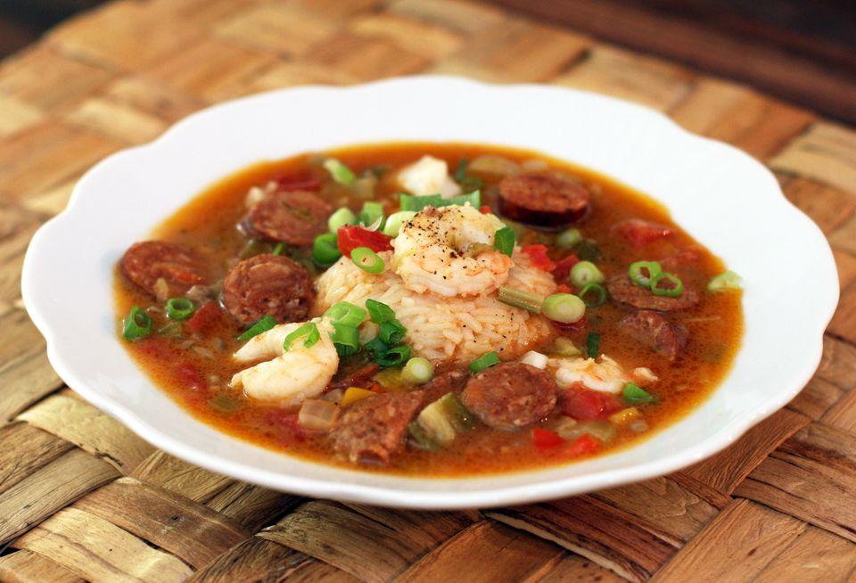 Classic Sausage and Shrimp Gumbo Recipe