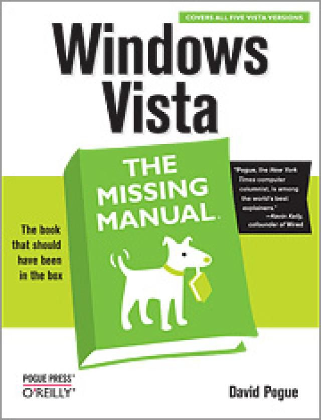 Windows Vista: The Missing Manual