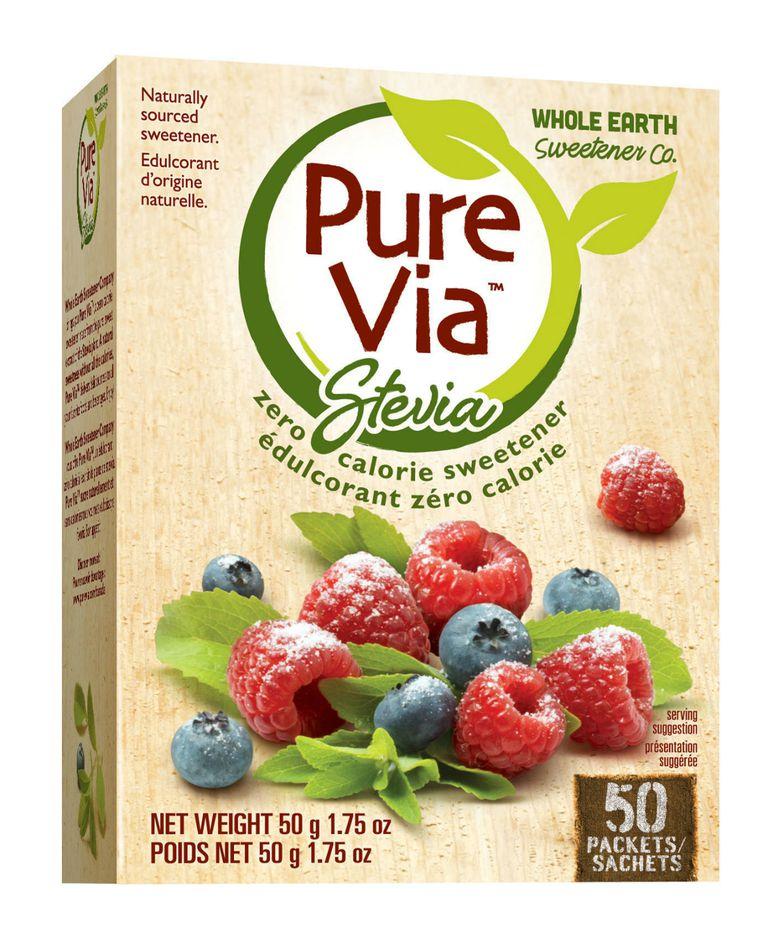 Pure Via stevia sweetener