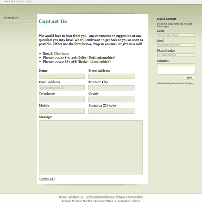 how to create a form in css