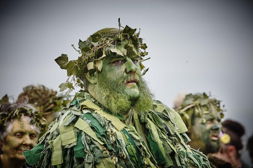 Green Man in Hastings
