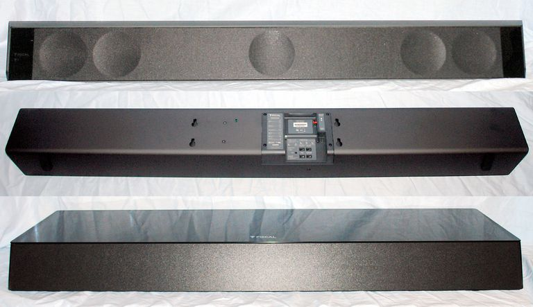 Focal Dimension Sound Bar And Dimension Subwoofer