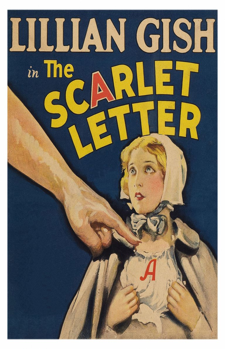 The Scarlet Letter Movie Poster. 1926.
