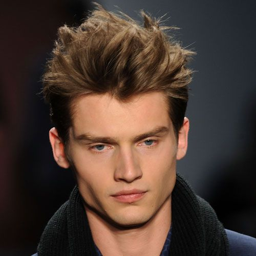 Pictures Of Mens Haircuts With Short Sides And A Long Top