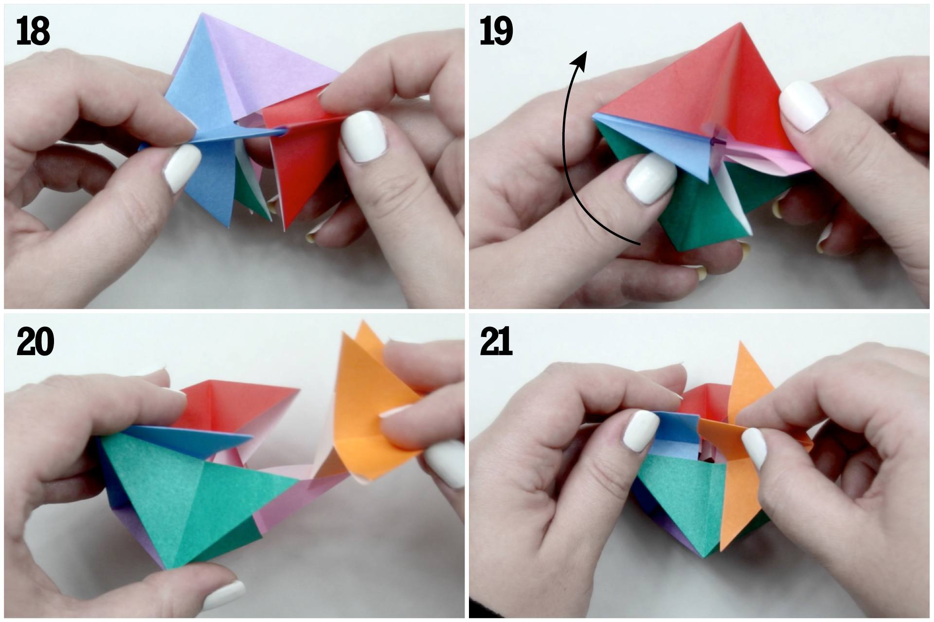 Origami blow top toy instructions jeuxipadfo Images