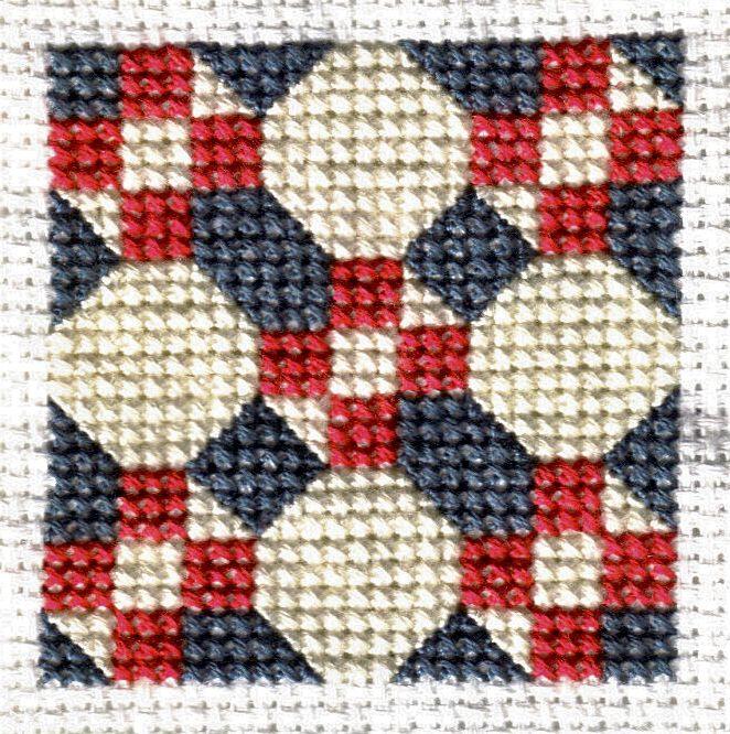 Free Quilt-Inspired Cross Stitch Patterns : cross stitch quilt block patterns - Adamdwight.com