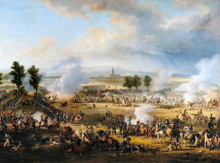 Fighting at the Battle of Marengo