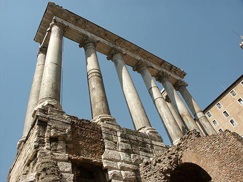 columns, roman forum, rome picture