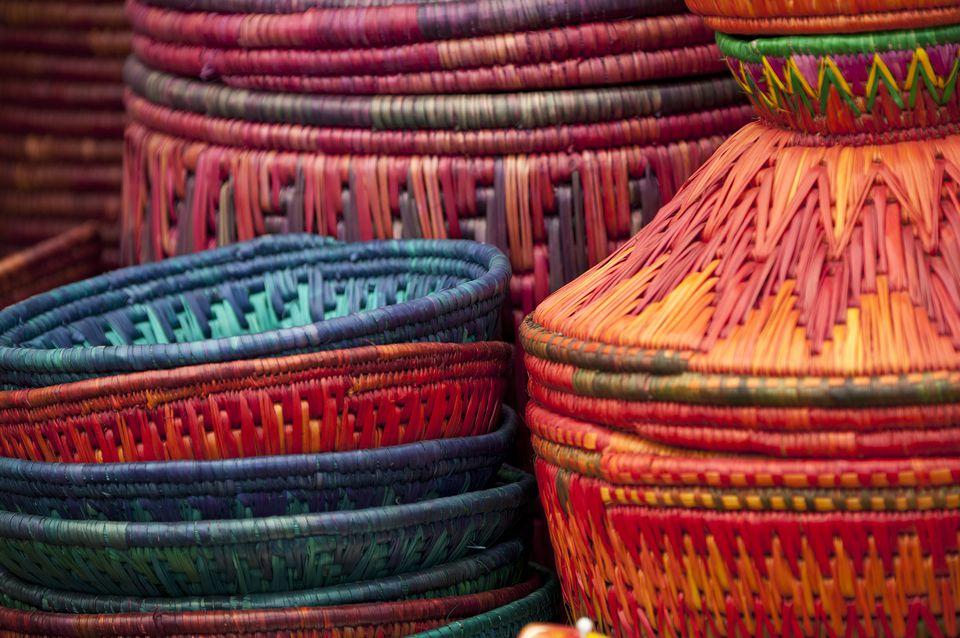 Handicrafts in Mumbai.