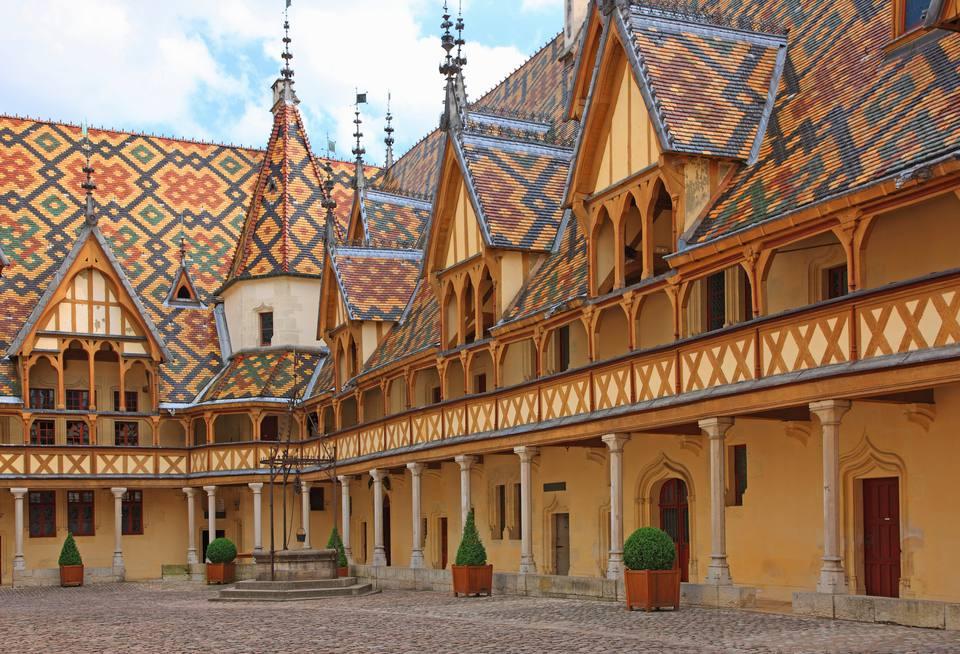 Beaune in Burgundy