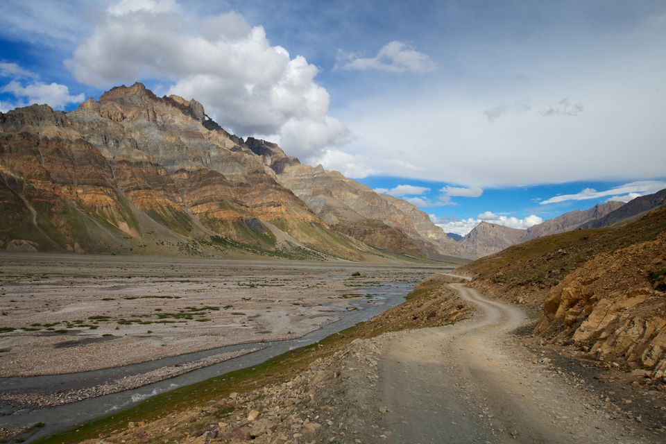 Way to the Spiti Valley