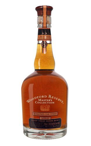 Woodford Reserve Master's Collection Seasoned Oak Finish Straight Kentucky Bourbon Whiskey