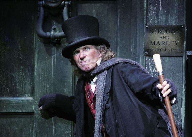Tommy Steele Returns To London Palladium In Scrooge - Photocall