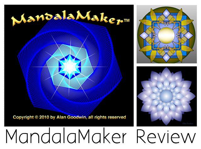 Review of MandalaMaker Software