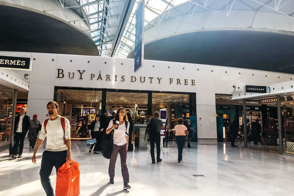 Paris airport duty free