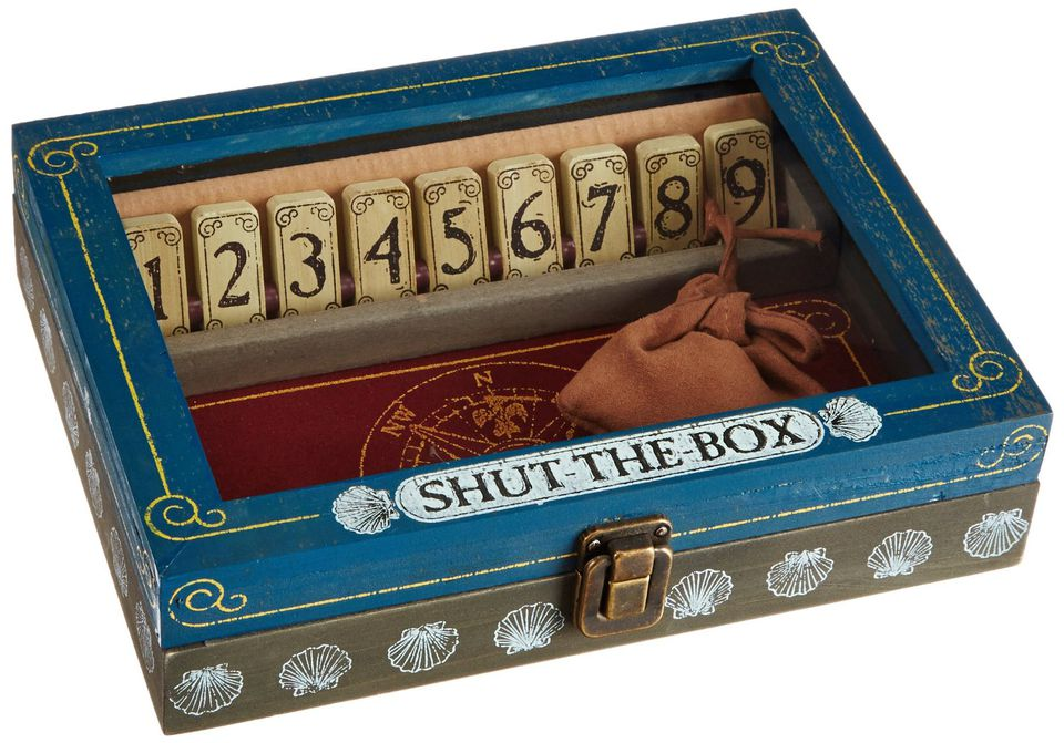 shut the box game for grandparents and grandchildren