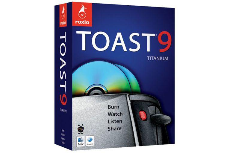 Roxio Toast Titanium 9