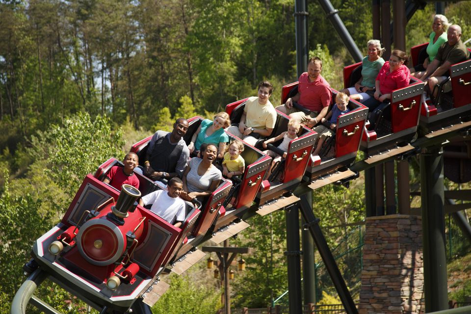 Dollywood FireChaser Express Coaster
