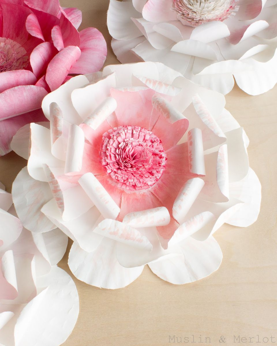 27 fun and easy to make paper flower projects you can make paper plate flower mightylinksfo