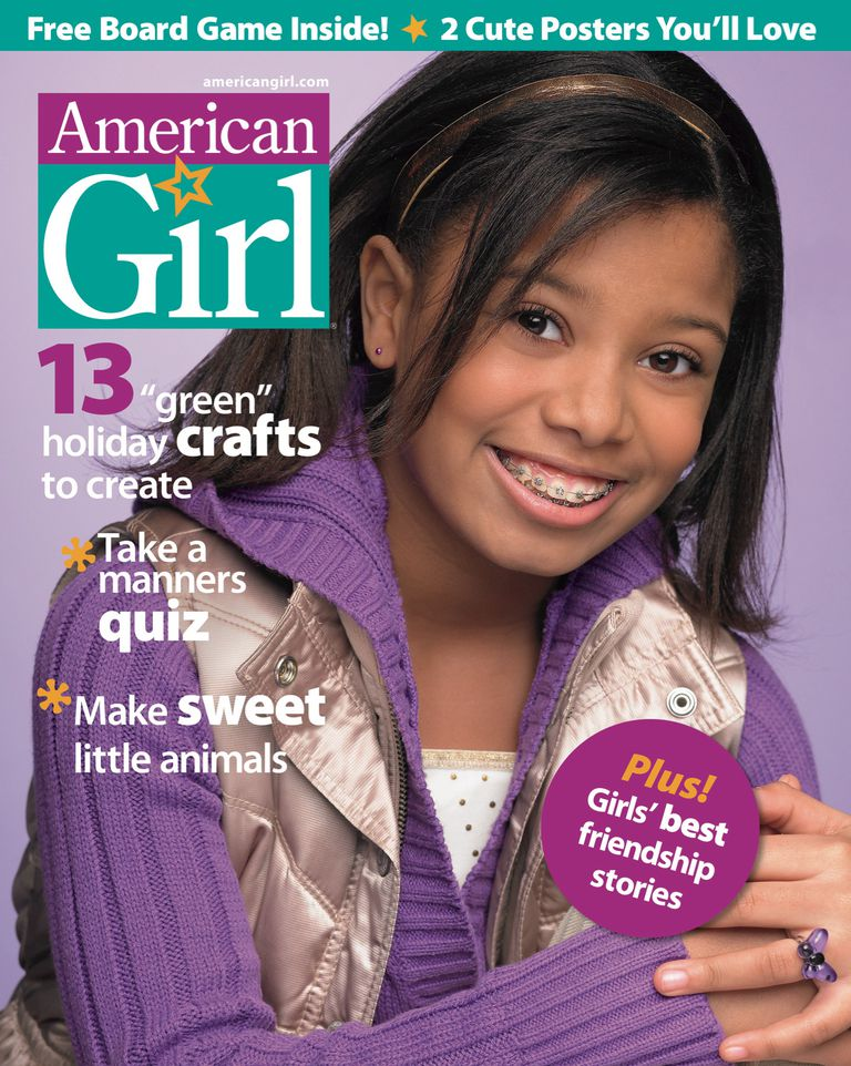 How-to advice is dispensed throughout American Girl Magazine.