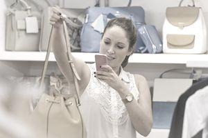 Counterfeit handbag