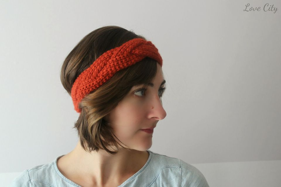 Braided Crochet Headband Free Pattern