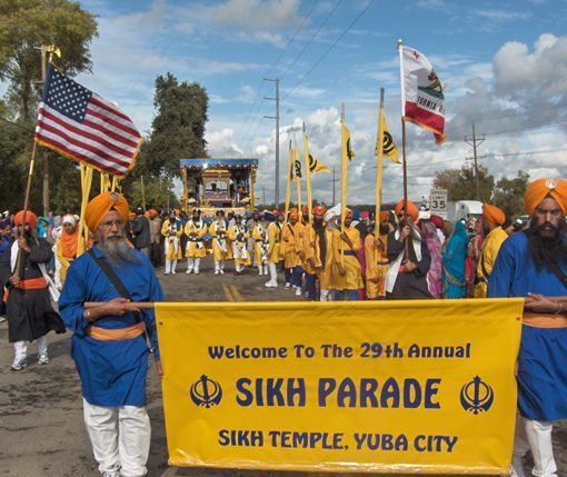 Yuba City Annual Sikh Parade