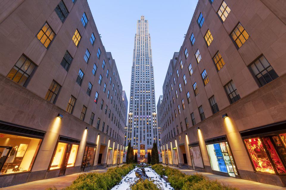 Rockefeller Center, New York City, America