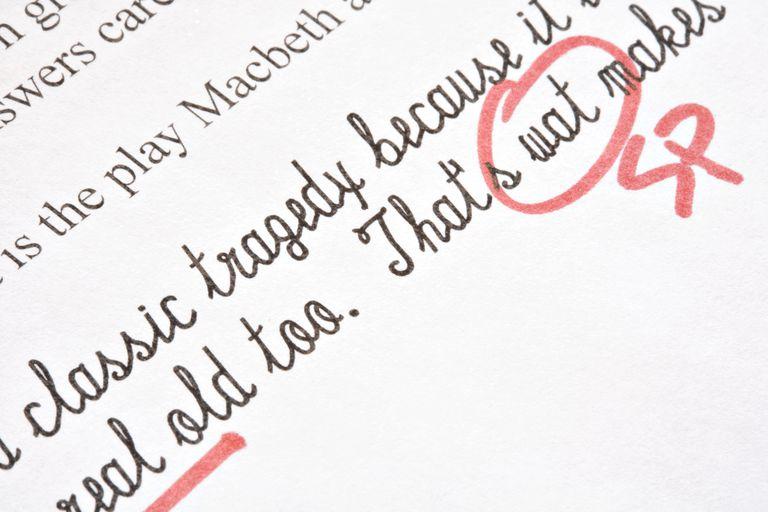 proofreading marks