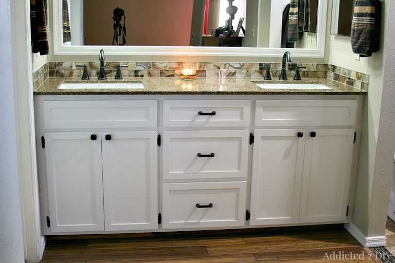 5 foot double vanity. DIY Double Bathroom Vanity From Addicted 2 11 Plans You Can Build Today