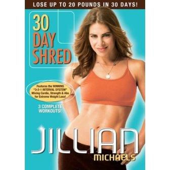 30 Day Shred DVD - Jillian Michaels