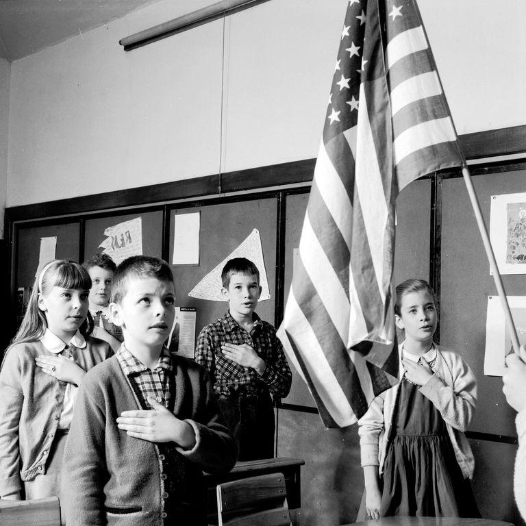 Morning Pledge of Allegiance