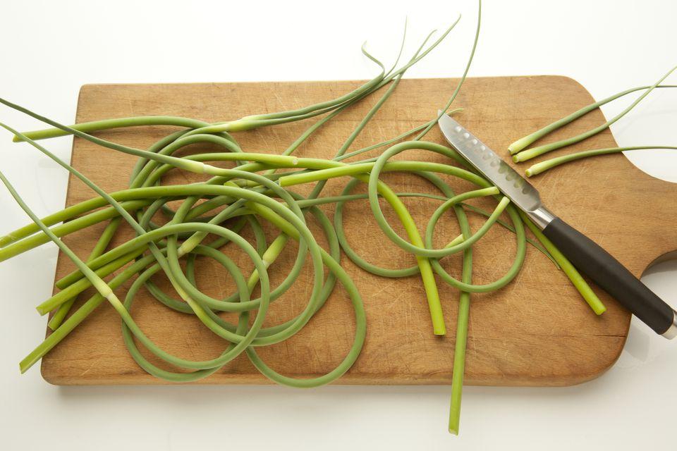 Fresh Garlic Scapes