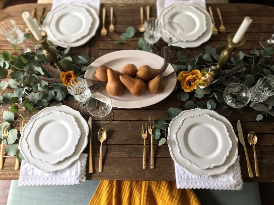 How to use utensils at a formal dinner - Dining table setting ideas ...