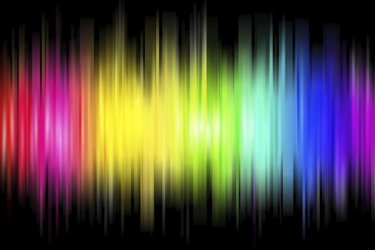 The spectrum of visible light includes wavelengths corresponding to red, orange, yellow, green, blue, indigo, and violet. Although the human eye perceives the color magenta, there is no corresponding wavelength because it's a trick the brain uses to interpolate between red and violet.