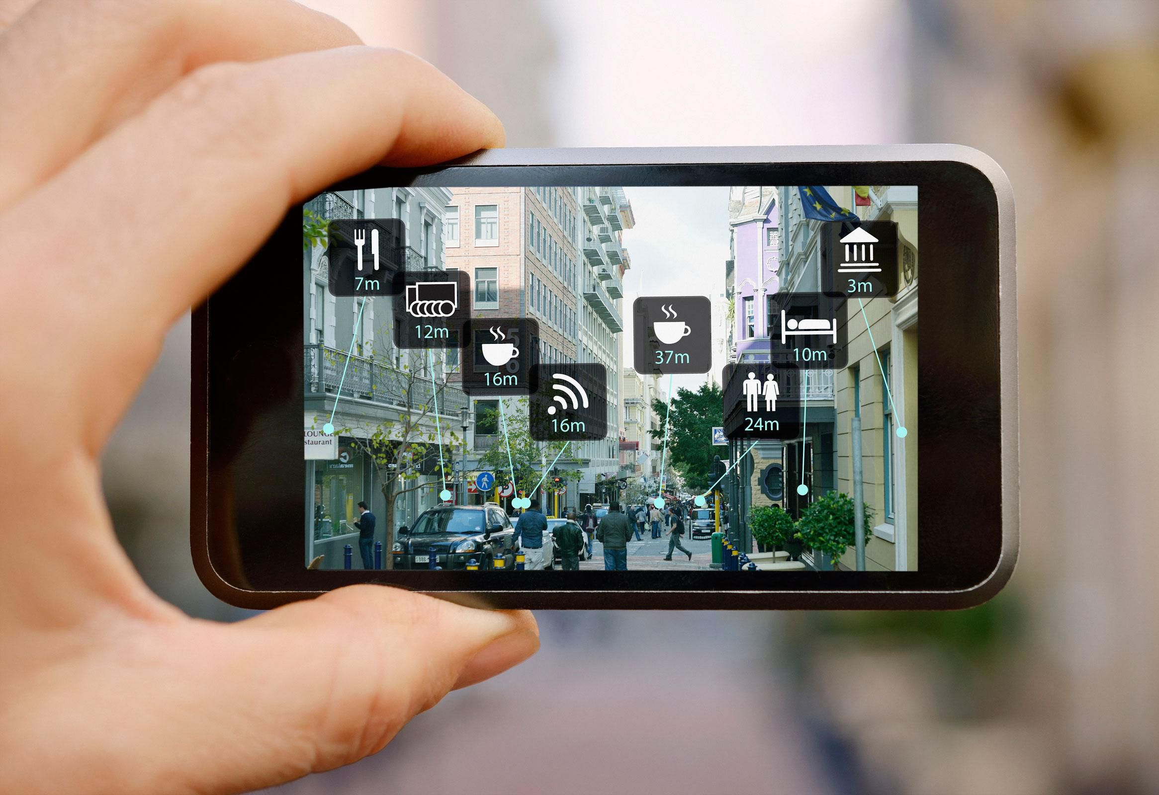 Resultado de imagen para iphone augmented reality