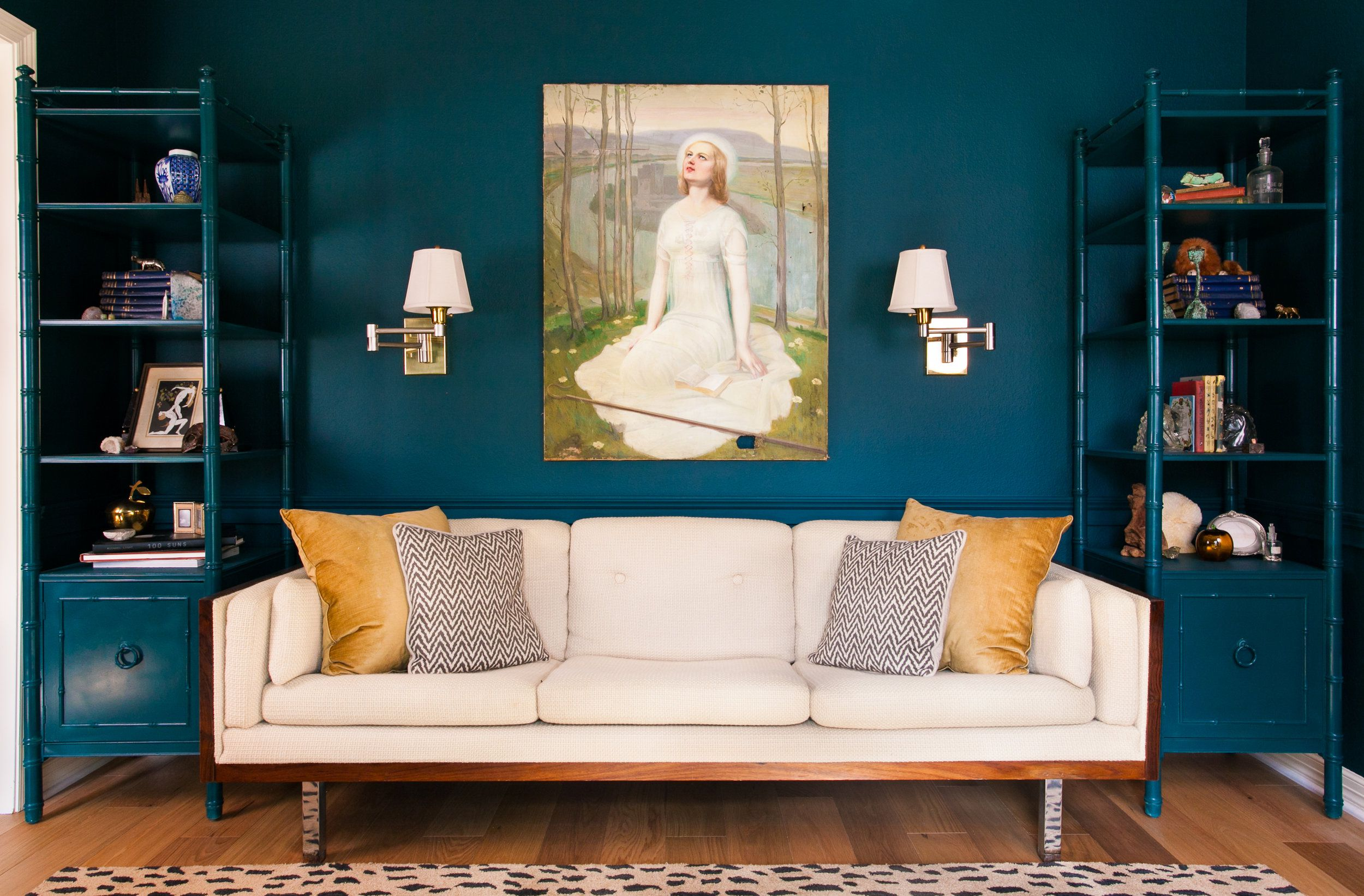 The Most Beautiful Blue Living Rooms. How to Decorate a Small Living Room