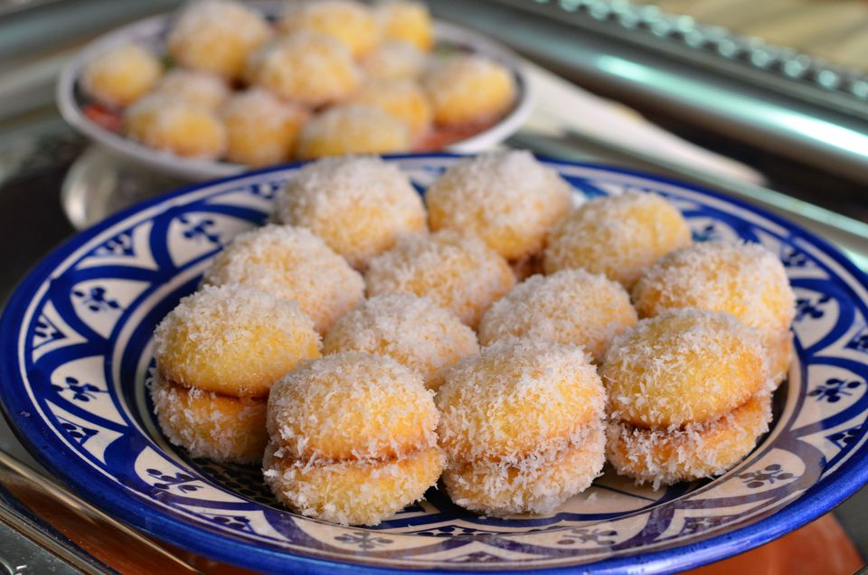 Moroccan Coconut Snowball Cookies