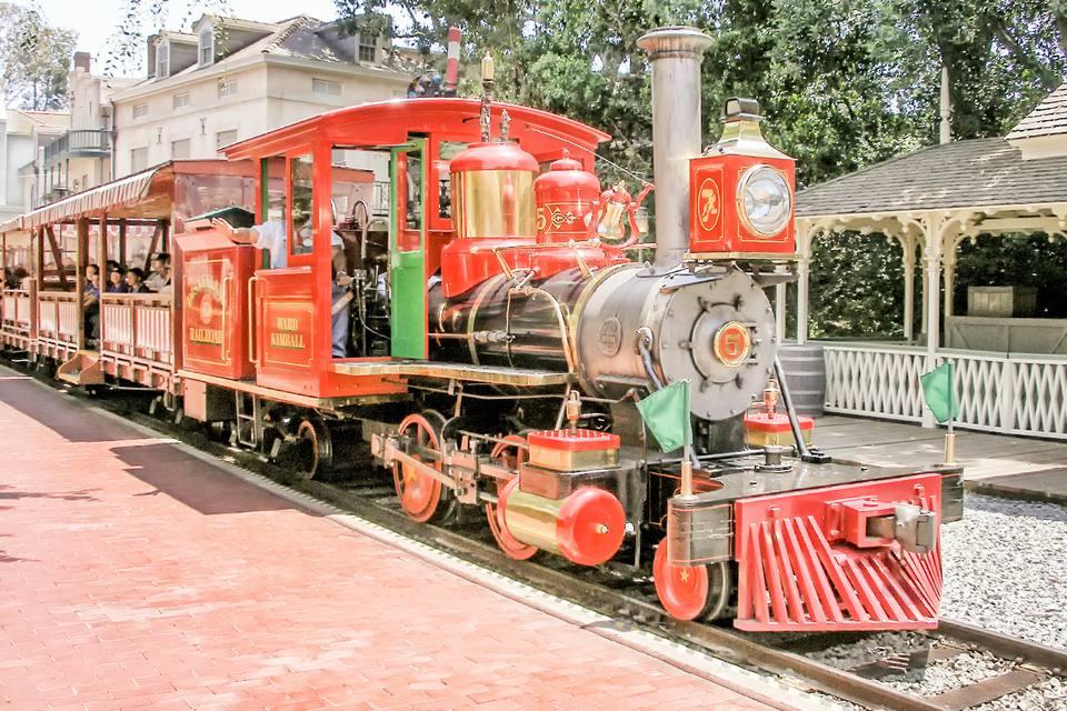 The Disneyland Train