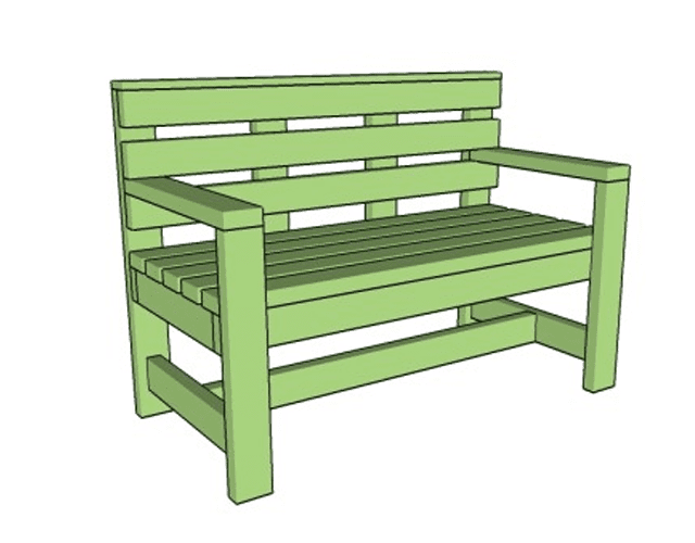 MyOutdoorPlans  Free Outdoor Bench Plan15 Free Bench Plans for the Beginner and Beyond. Outdoor Bench Project Plans. Home Design Ideas