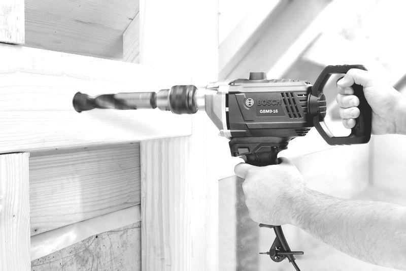 Bosch drill/mixer