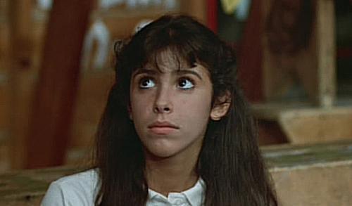 Felissa Rose as Angela Baker in 'Sleepaway Camp'.