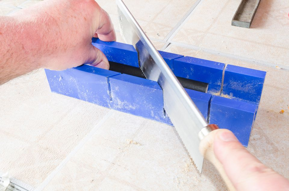 Cutting with Manual Saw and Miter Box