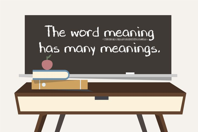 Meaning meanings