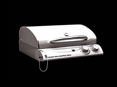 The Outdoor Greatroom Company Legacy Electric Grill Stainless Steel