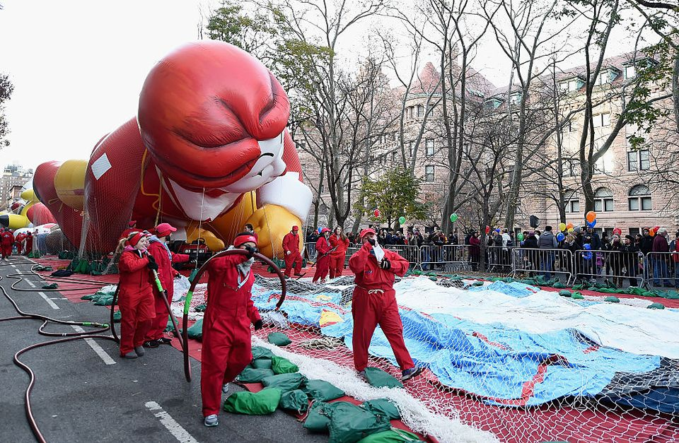 90th Anniversary Macy's Thanksgiving Day Parade - Inflation Eve