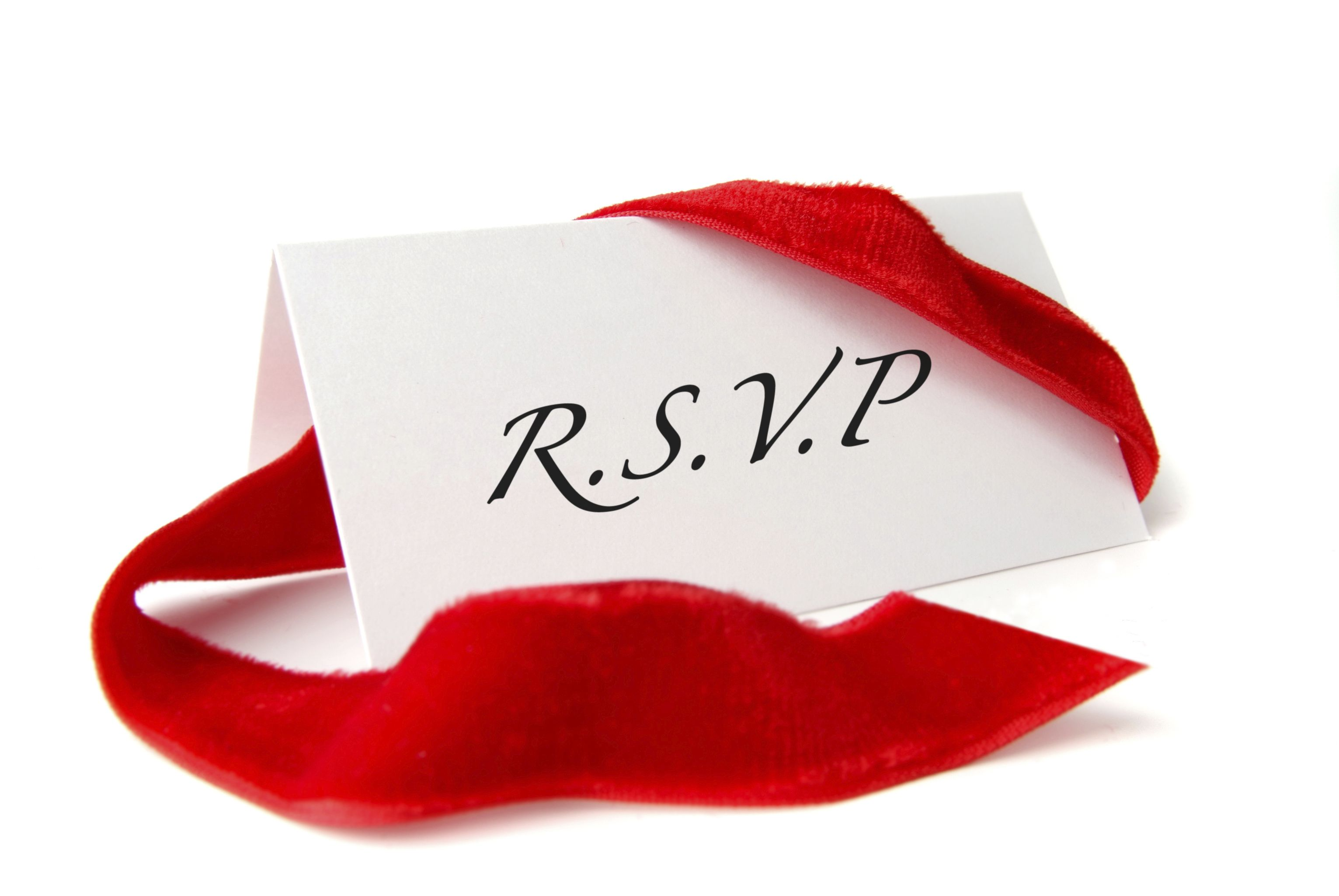 What To Do When You Re Asked To Rsvp