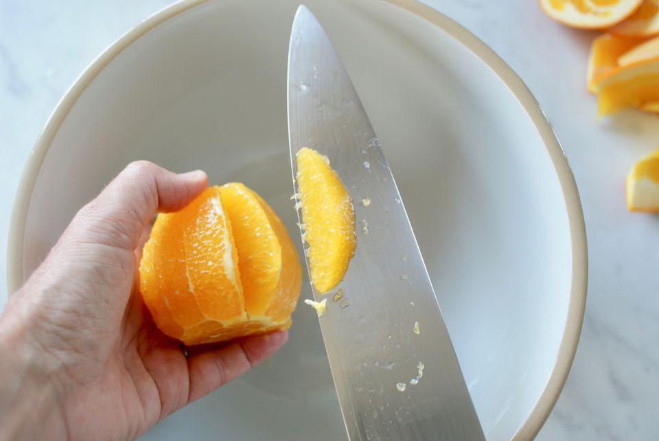 Citrus Supremes Step Five